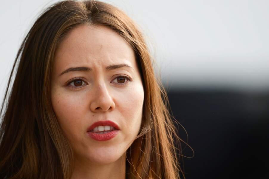 La mannequin japonaise a épousé le pilote McLaren Mercedes en 2014
