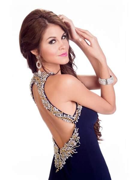 Jimena Espinosa, Miss Pérou 2014