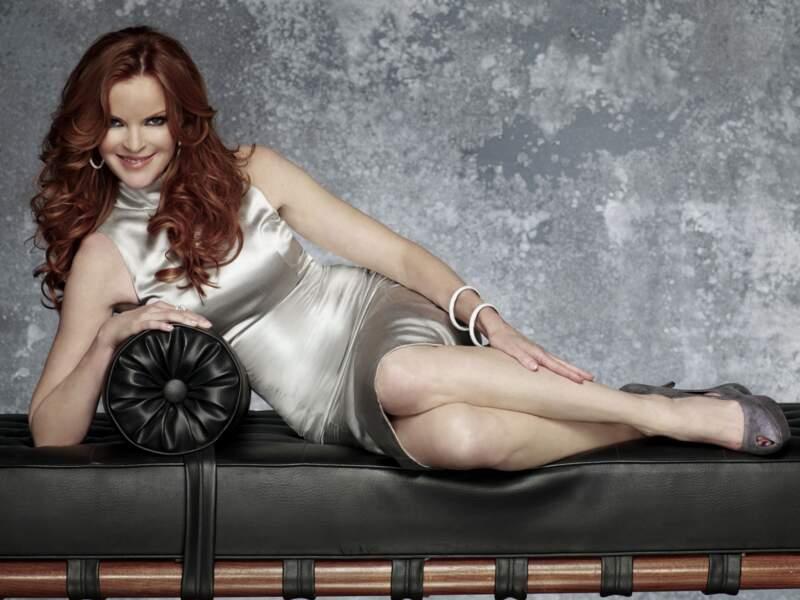 Marcia Cross en promo pour Deseperate Housewives saison 8