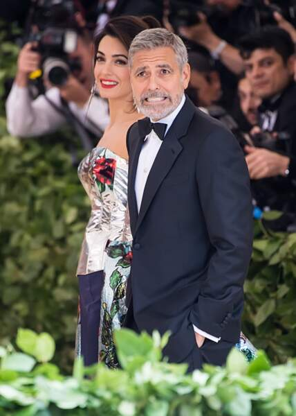 Amal et George Clooney