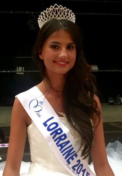 La jolie Miss Lorraine 2015 s'appelle Jessica Molle