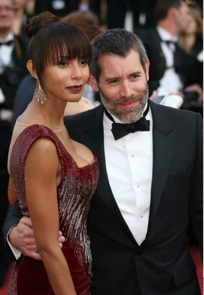 Avec son chéri l'acteur-réalisateur Jalil Lespert