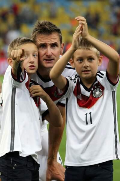 Chez les Allemands, on célèbre la victoire en famille !