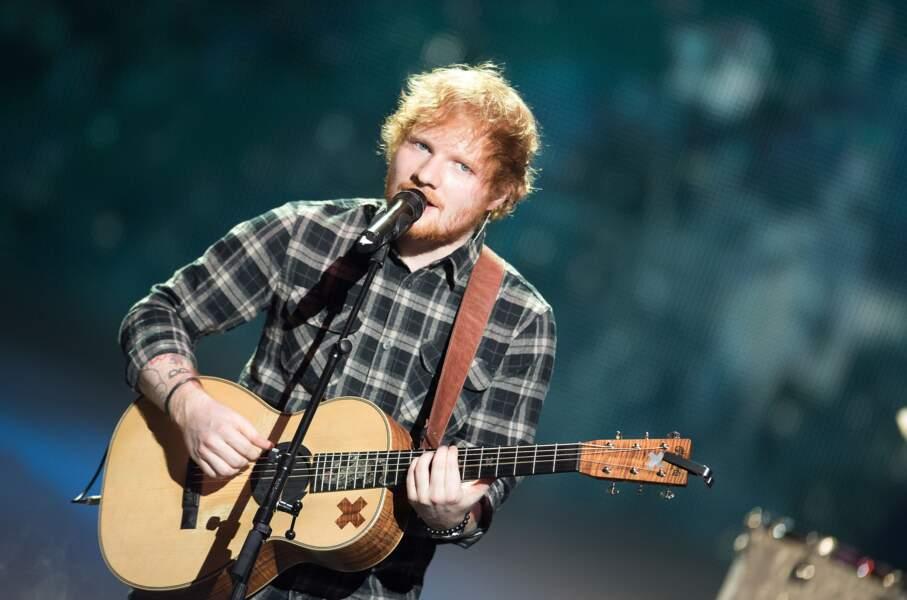 Ed Sheeran, regard azur en 2015