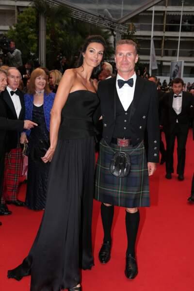 Quant au pilote David Coulthard, il avait juste oublié son pantalon