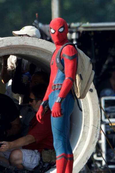Et voici le nouveau Spider-Man, incarné par le jeune acteur Tom Holland !