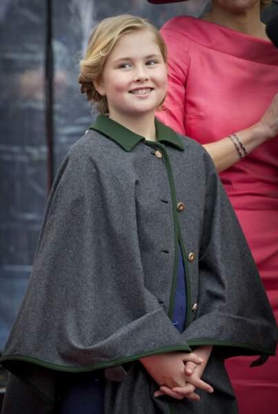 Pays-Bas : Catharina-Amalia, 12 ans, est prête pour monter sur le trône