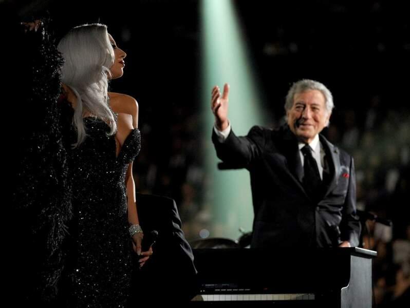 Et voici Lady Gaga, au côté du grand Tony Bennett