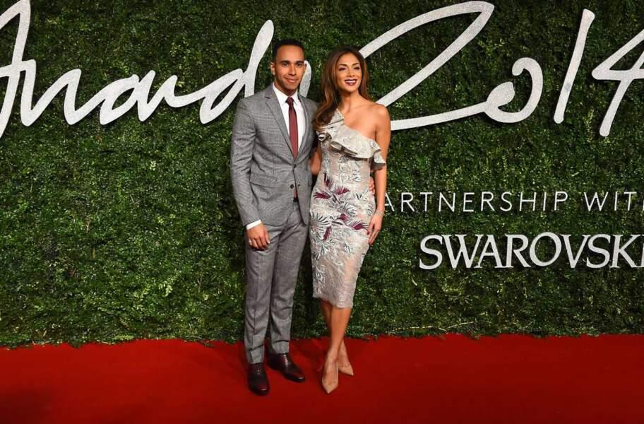 Les amoureux de la soirée : Lewis Hamilton et Nicole Scherzinger