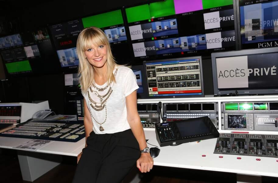 Sandrine Corman prend les commandes d'Accès Privé