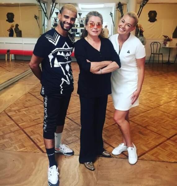 Et les danseurs Katrina Patchett et Brahim Zaïbat bossent sur un nouveau projet avec... Catherine Deneuve !