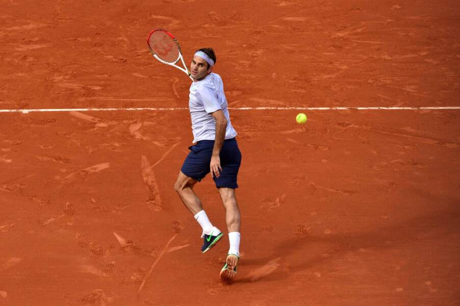 Roger Federer en difficulté ? Absolument pas !