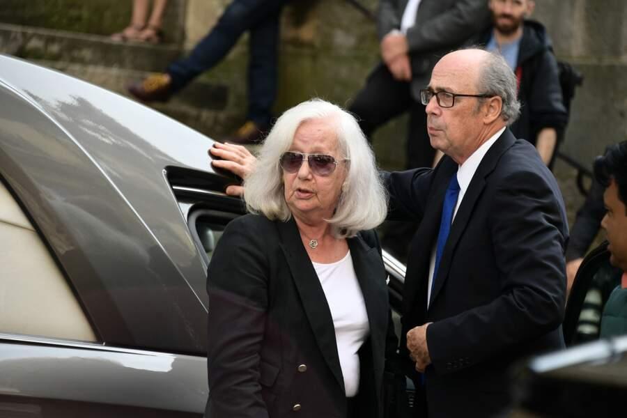 La dernière épouse de Pierre Bellemare, Roselyne Bracchi
