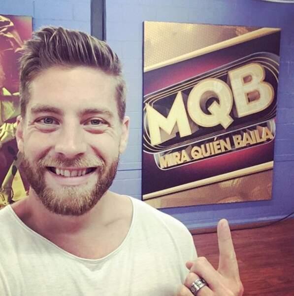 Il a eu la chance de rejoindre la version latino-américaine du programme, Mira quien baila