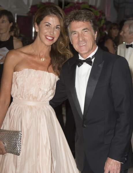 François Cluzet et sa femme Narjiss étaient conviés à cette soirée.