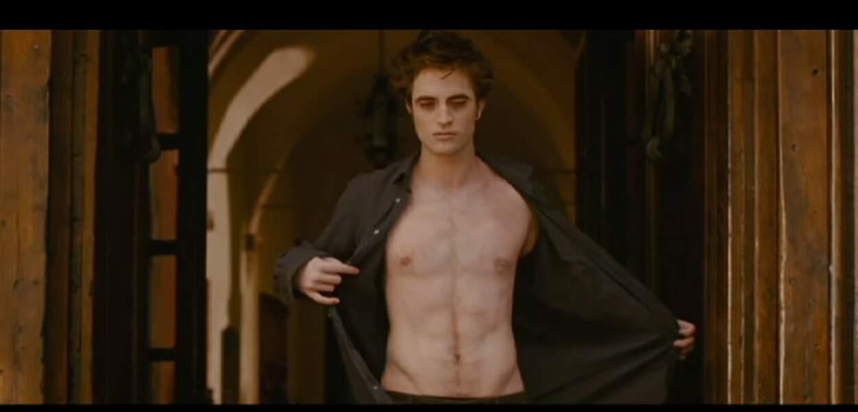 Robert Pattinson dans la saga Twilight