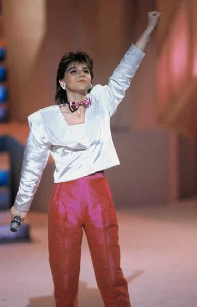 """En 1986, Sandra Kim représente la Belgique avec """"J'aime la vie"""""""