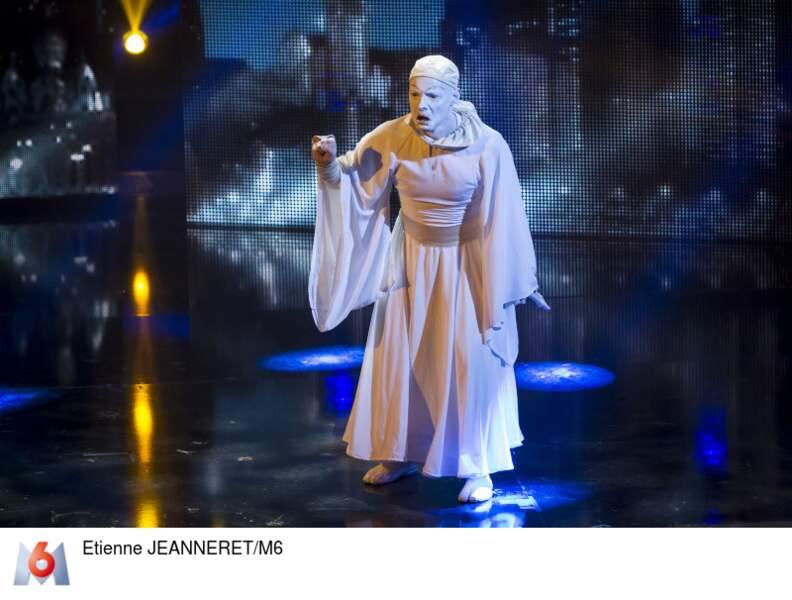 Pierrot Buto, le clown blanc, fera-t-il gloden buzzer Dave, 5e juré de la soirée ?