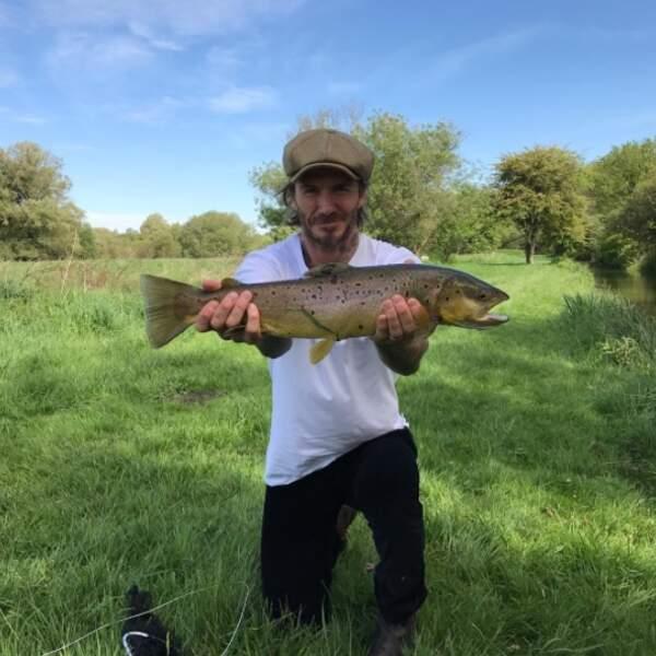 Le Bachelor offre des roses. David Beckham, lui, offre du poisson frais tout juste pêché par ses soins.