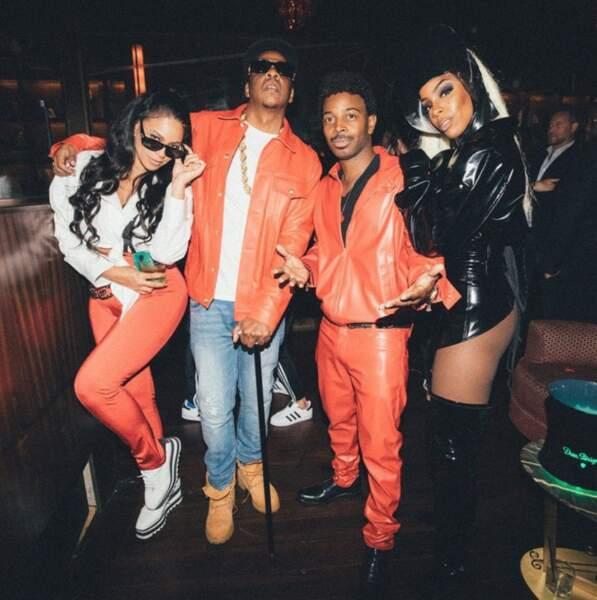 Beyoncé et Jay-Z en mode Lil' Kim et Notorious B.I.G.