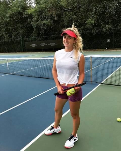 Elina Svitolina a déjà atteint la 4ème place mondiale