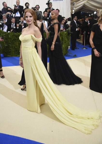 Jessica Chastain, divine.