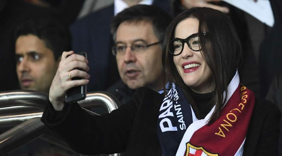 L'actrice Liv Tyler a immortalisé cette victoire parisienne avec un petit selfie