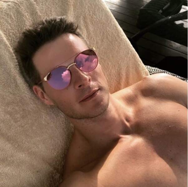 Matthieu Delormeau a choisi de s'envoler au soleil...