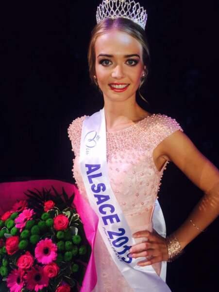 Miss Alsace 2015 s'appelle Laura Muller