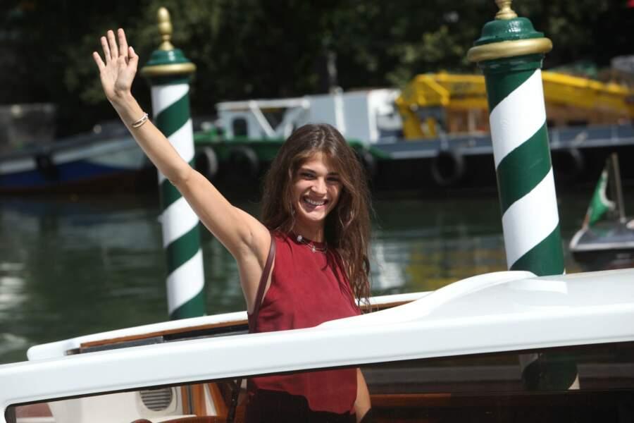 L'actrice, Elisa Sedanoui, marraine de cette 72ème édition débarque au Lido