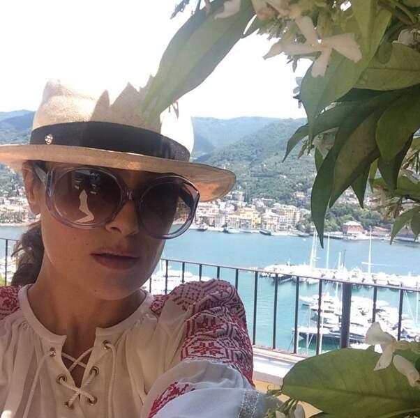 Un brin de soleil en Italie ? Hop, un petit selfie !