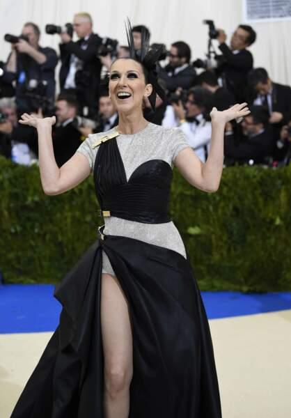 Celine Dion en extase.