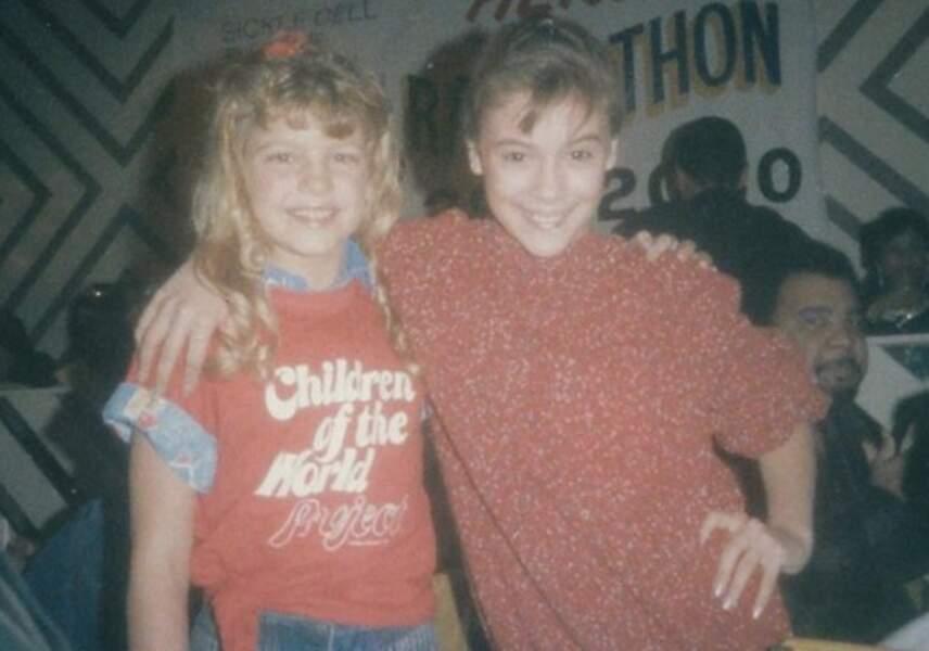 Vous les reconnaissez ? C'est la chanteuse Fergie et l'actrice Alyssa Milano !