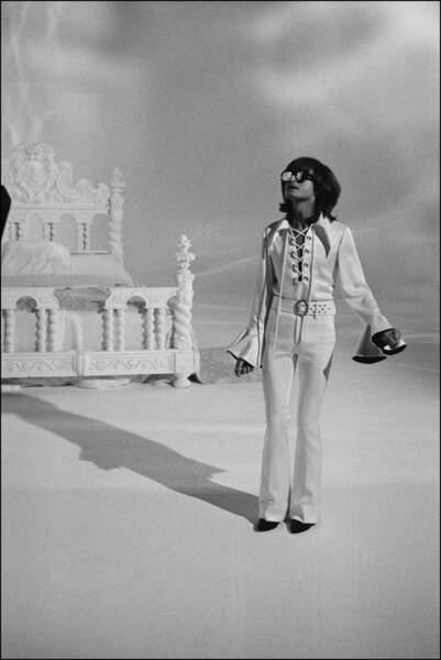 Fin 1969, les pantalons pattes d'eph' arrivent ...