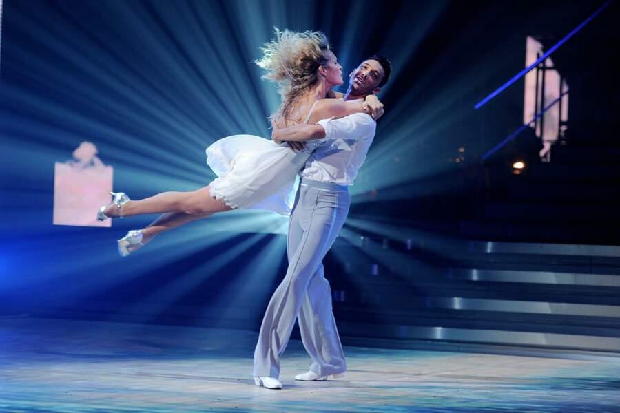 Estelle Lefébure s'est prise pour un ange dans les bras de son danseur