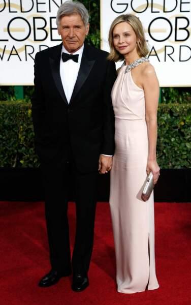 Harrison Ford et Calista Flockhart, un couple solide d'Hollywood