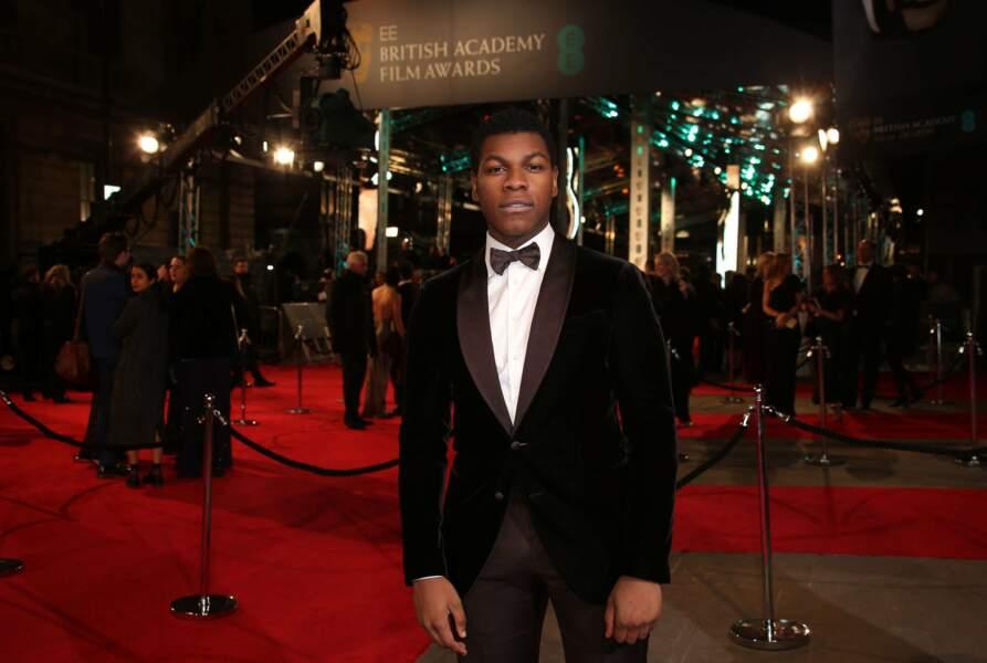Ainsi que le jeune John Boyega, un des acteurs vedettes de la nouvelle trilogie Star Wars