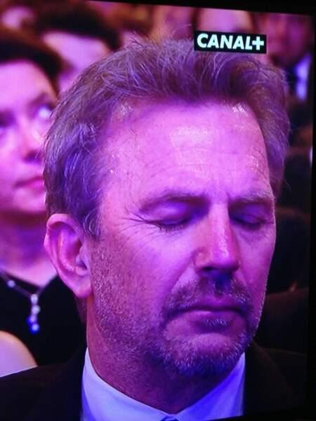 Kevin Costner n'a pas loupé une miette des César