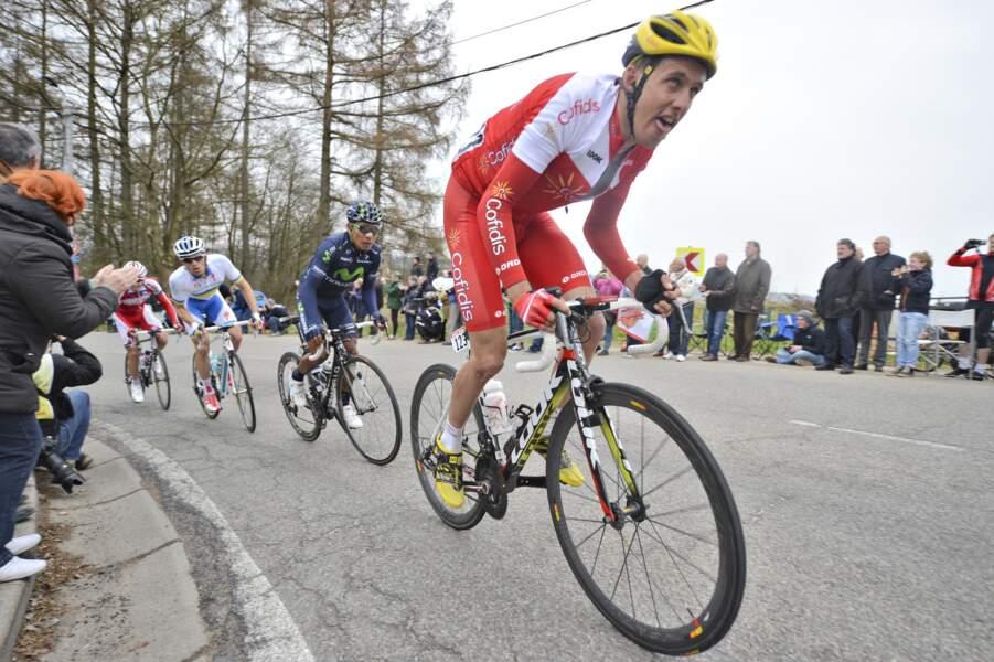 Jérôme Coppel, 13e en 2011 et 21e en 2012, visera, lui, un top 15