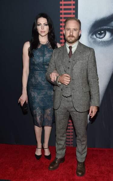 Les acteurs Laura Prepon (Orange is the new black) et Ben Foster.