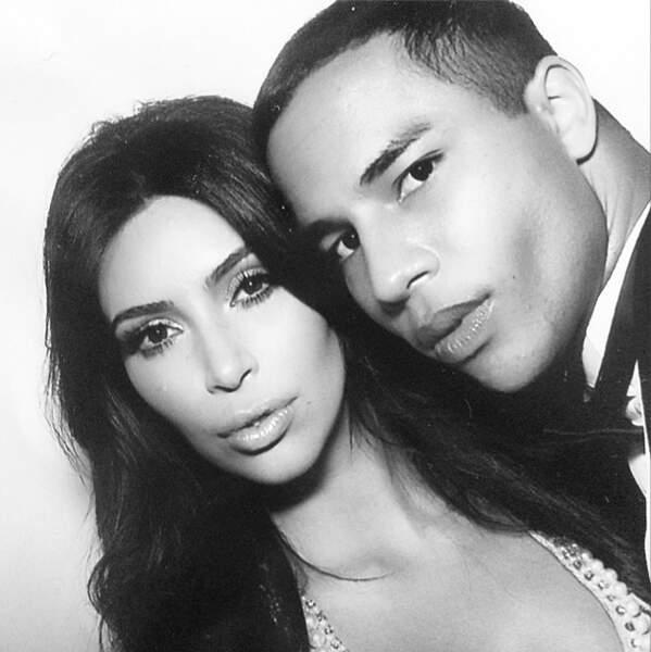 Le jeune homme avec la mariée, Kim Kardashian !