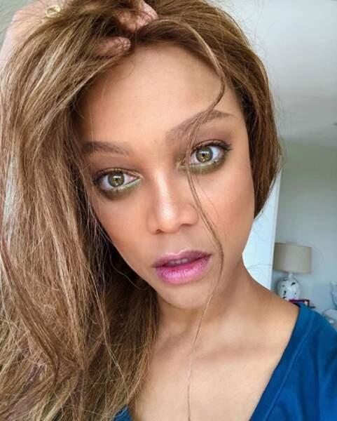 Tyra Banks fofolle et peinte…