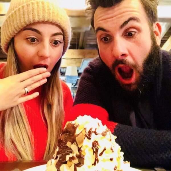 Laurent Ournac et sa femme Ludivine ont au moins une passion en commun : la gourmandise !