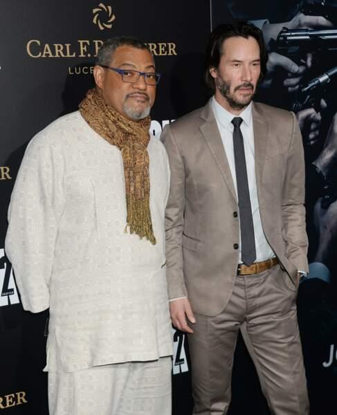 Pourtant, il avait tout pour créer l'évènement : lui et Laurence Fishburne réunis près de 15 ans après Matrix !