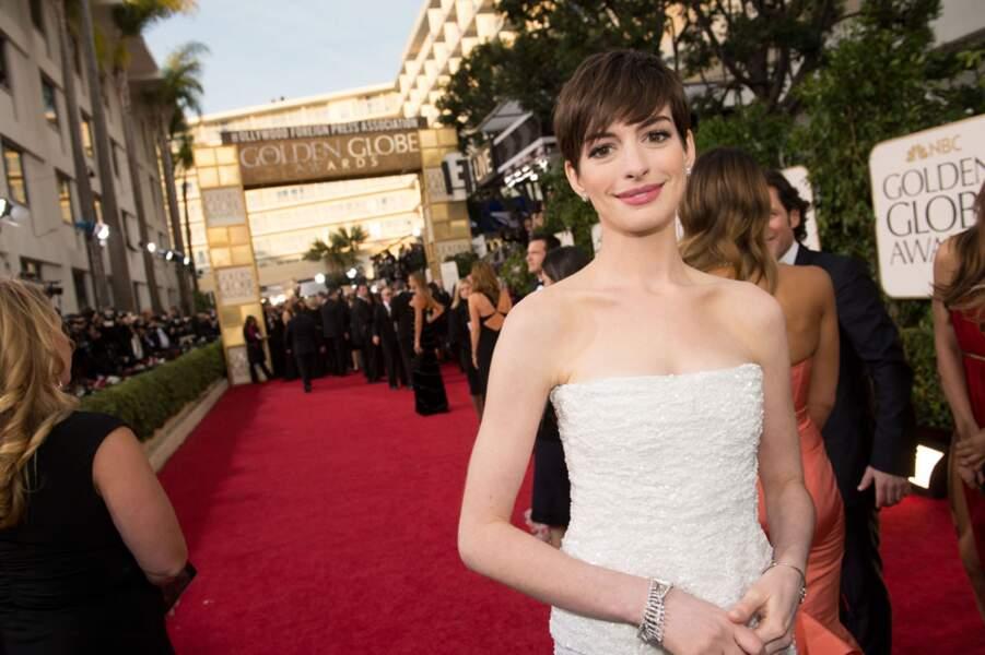 Anne Hathaway a battu Nicole Kidman et Helen Hunt, notamment, grâce à sa partition dans Les Misérables.