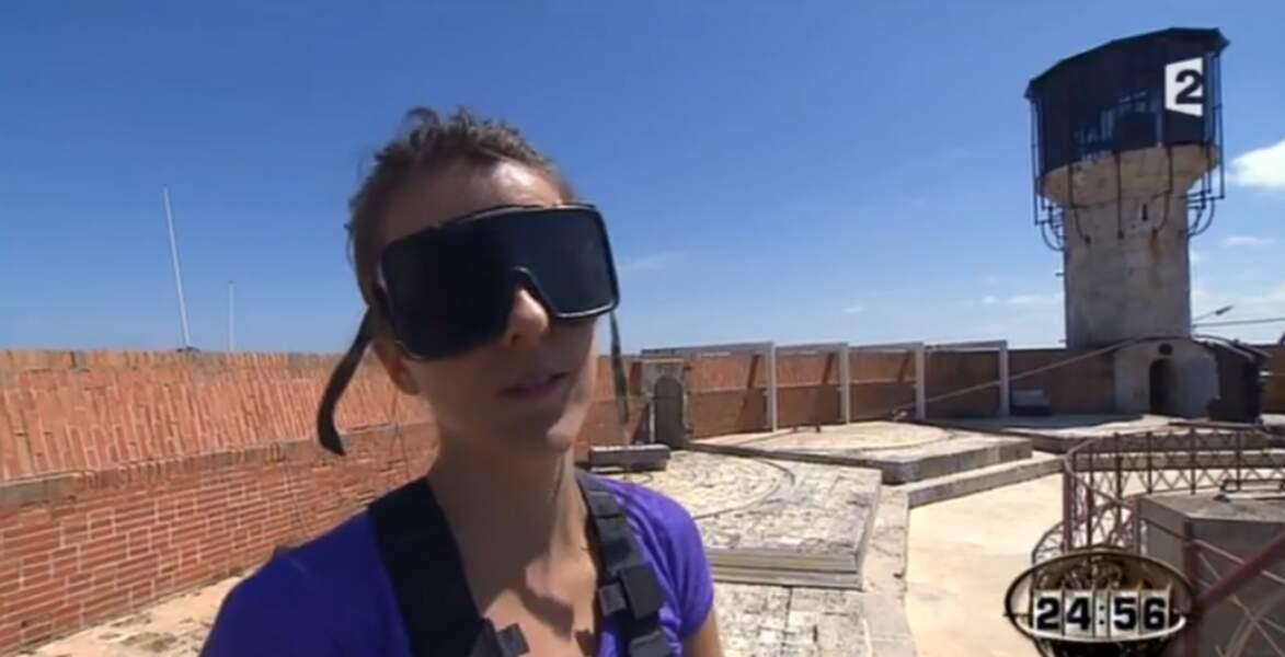 Sympa, l'équipe de Fort Boyard a caché la vue à Nicole Ferroni