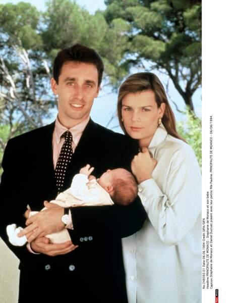 La stabilité enfin avec Daniel Ducruet, père de ses deux aînés dont elle se sépare en 1996