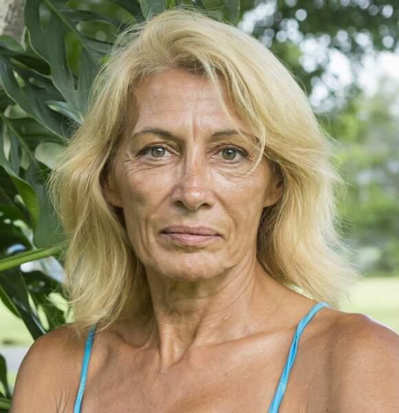 Voici Muriel, la doyenne de l'équipe des femmes
