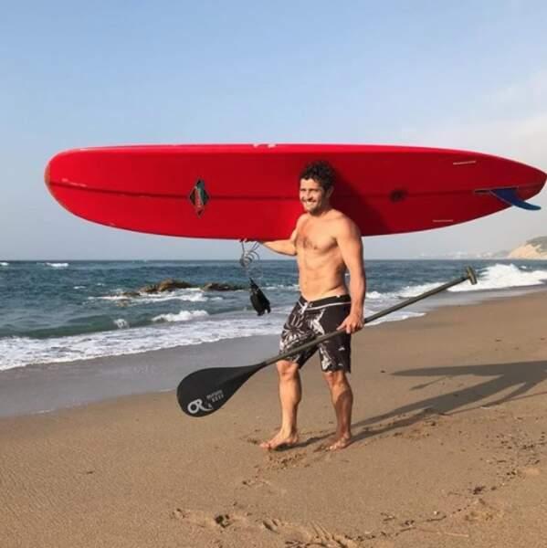Ou faire du paddle au Pays Basque avec Bixente Lizarazu.