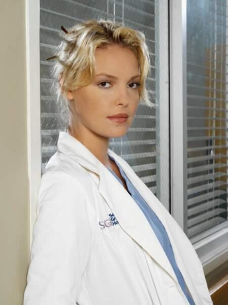 Elle a été l'une des héroïnes de la série Grey's Anatomy